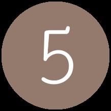 5 brun